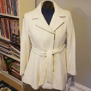White lined jacket